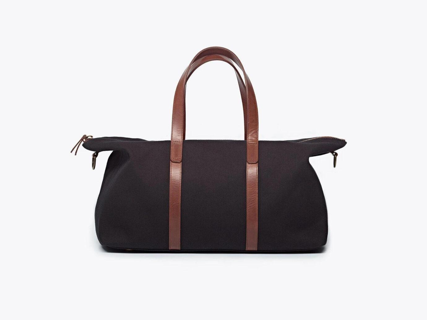 Nisolo Canvas Weekender Bag