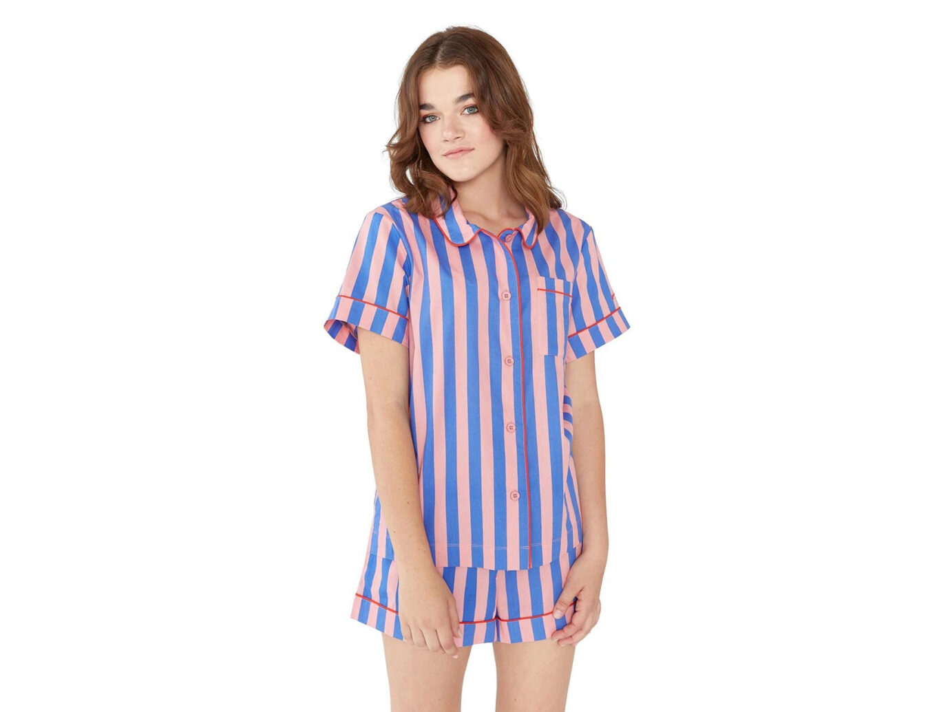 Ban.do Indigo & Sleepy Pink Pajama Set