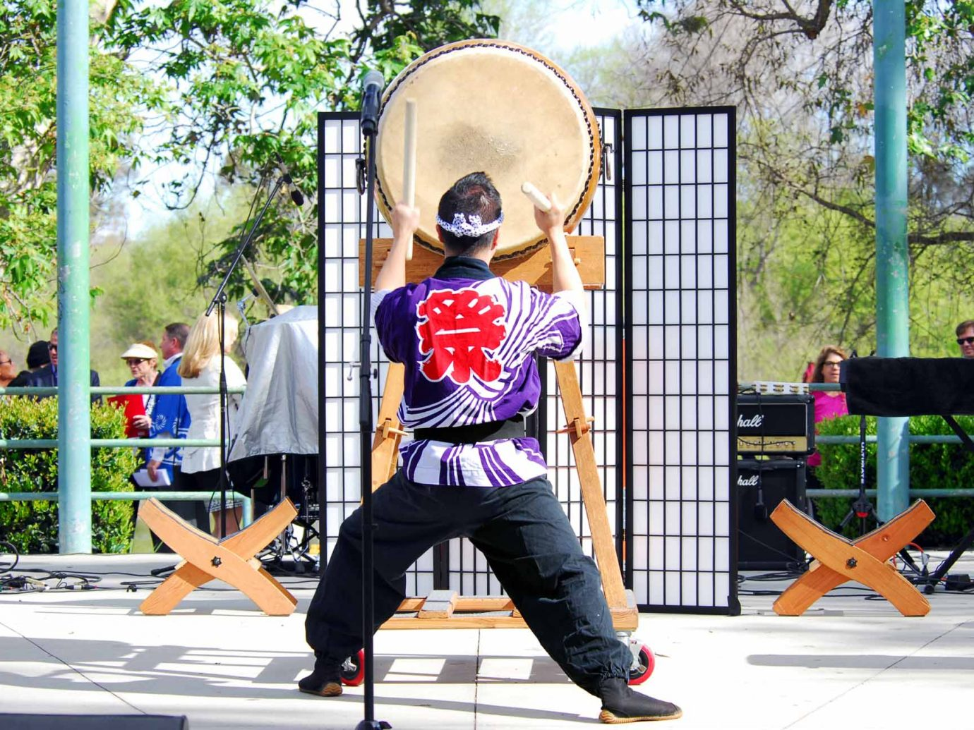 Performer at Orange County Cherry Blossom Festival