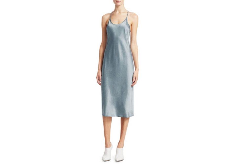 T by Alexander Wang Wash & Go Slip Dress