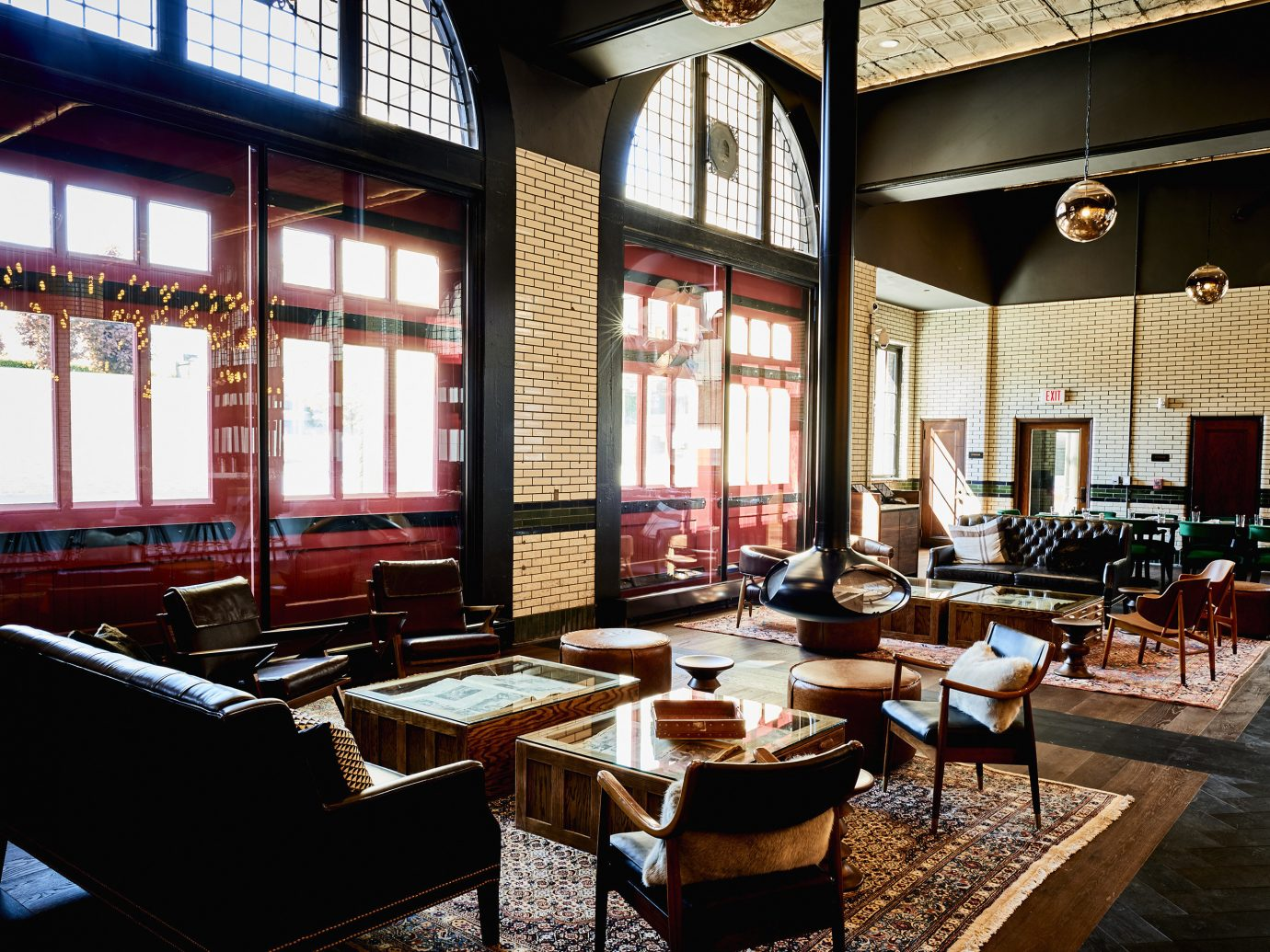 Lounge at Detroit Foundation Hotel