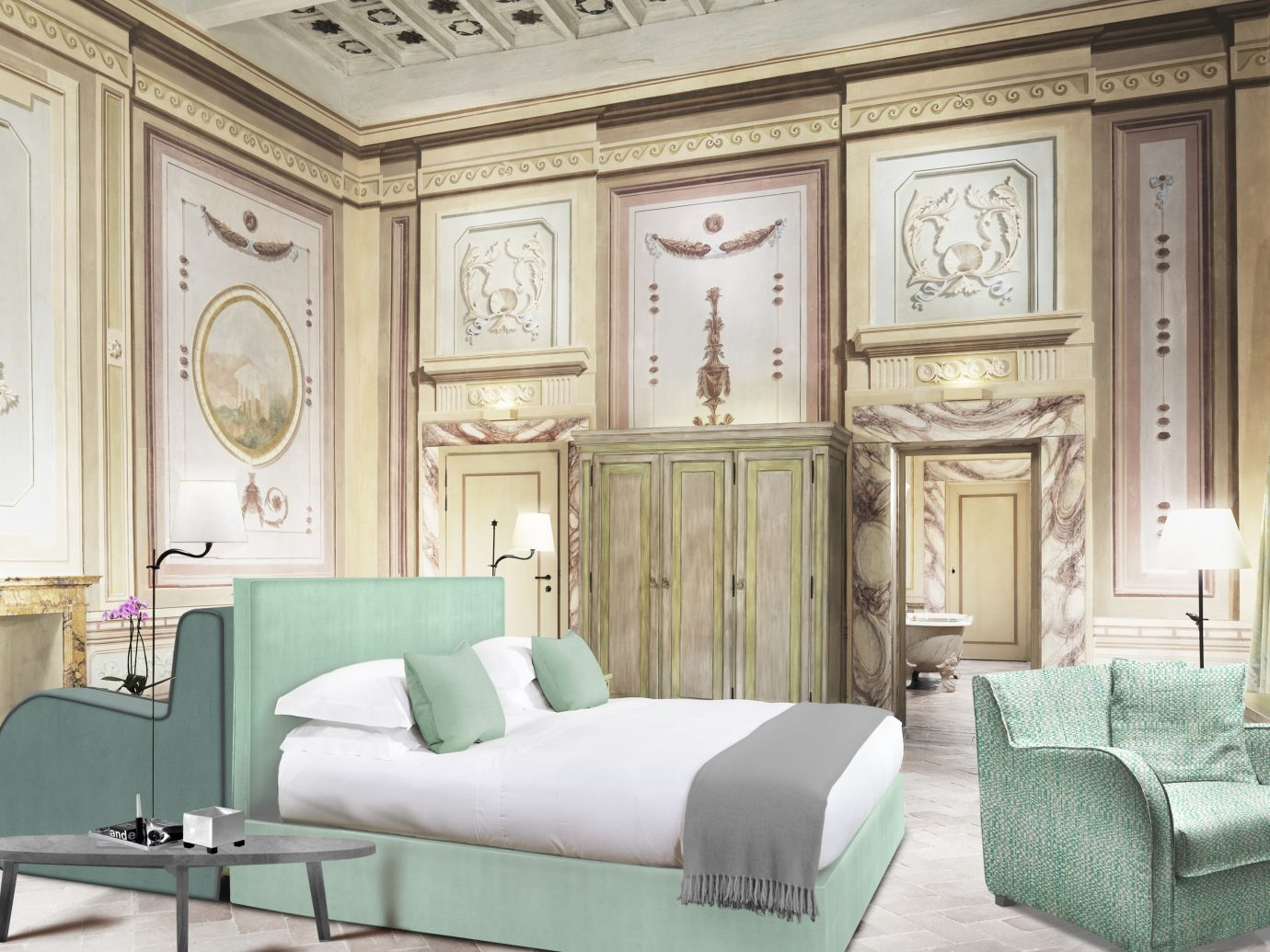 Bedroom at COMO Castello Del Nero