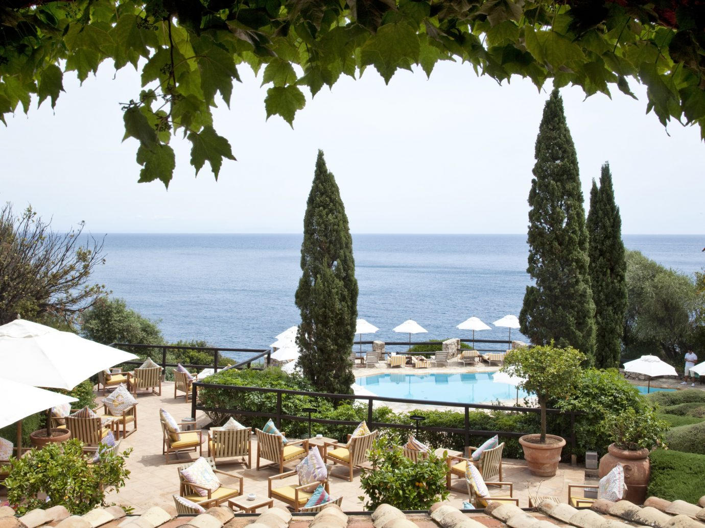 Ocean view from Il Pellicano
