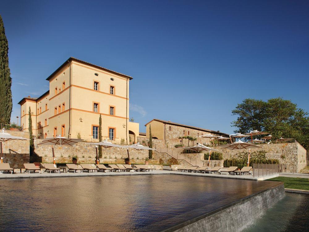 Pool at Castello di Casole