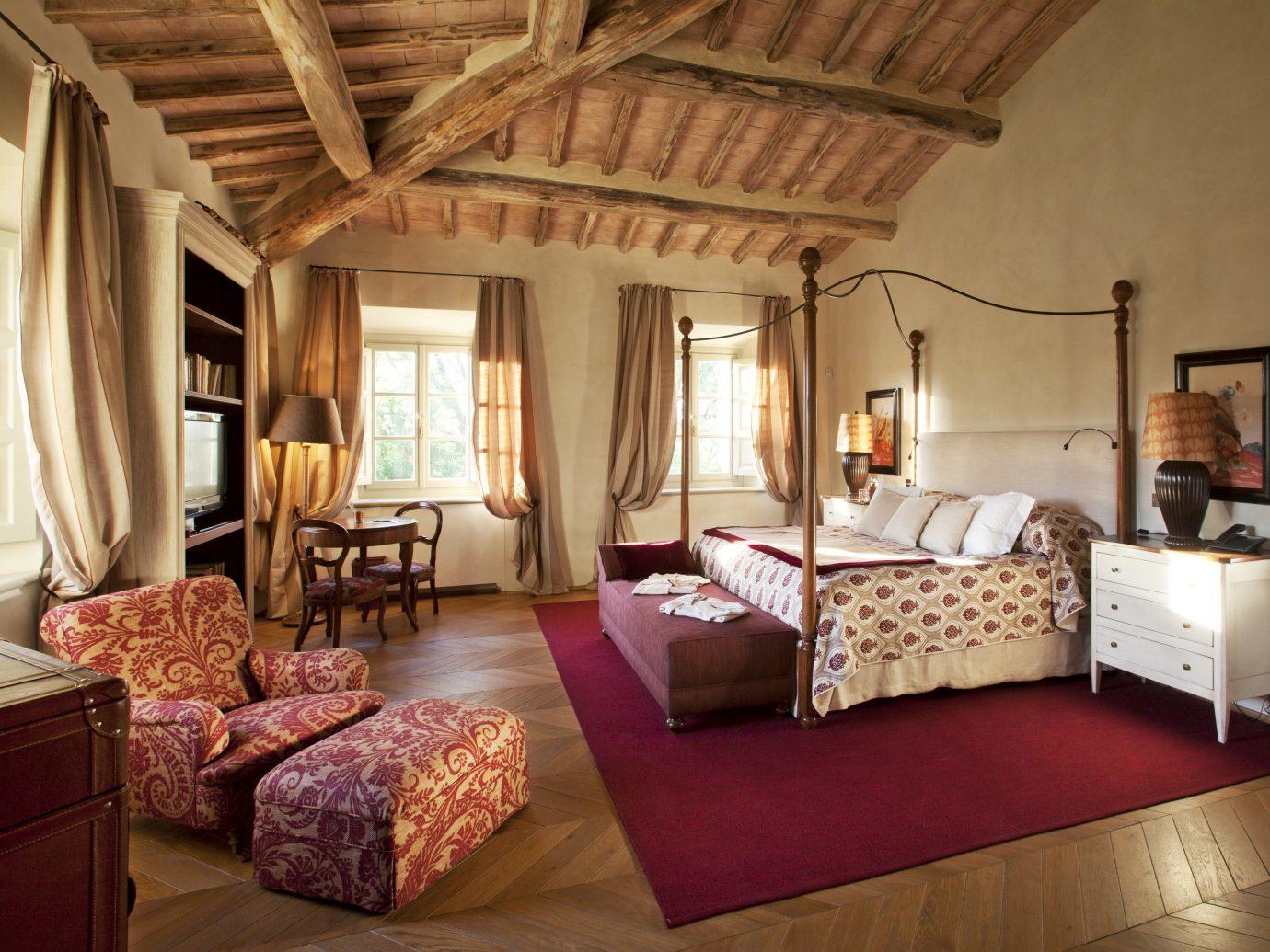 Bedroom at Rosewood Castiglion de Bosco