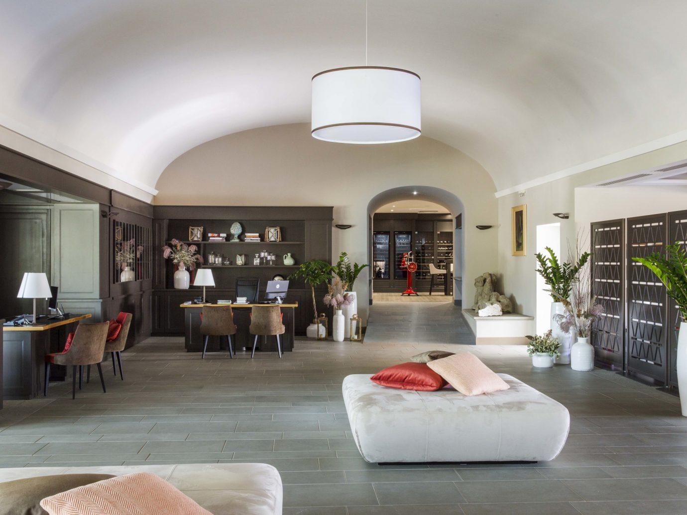 Lounge at Hotel Il Castelfalfi in Tuscany