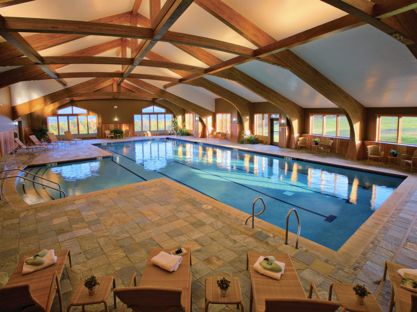 Pool at Trapp Family Lodge, Stowe, Vermont