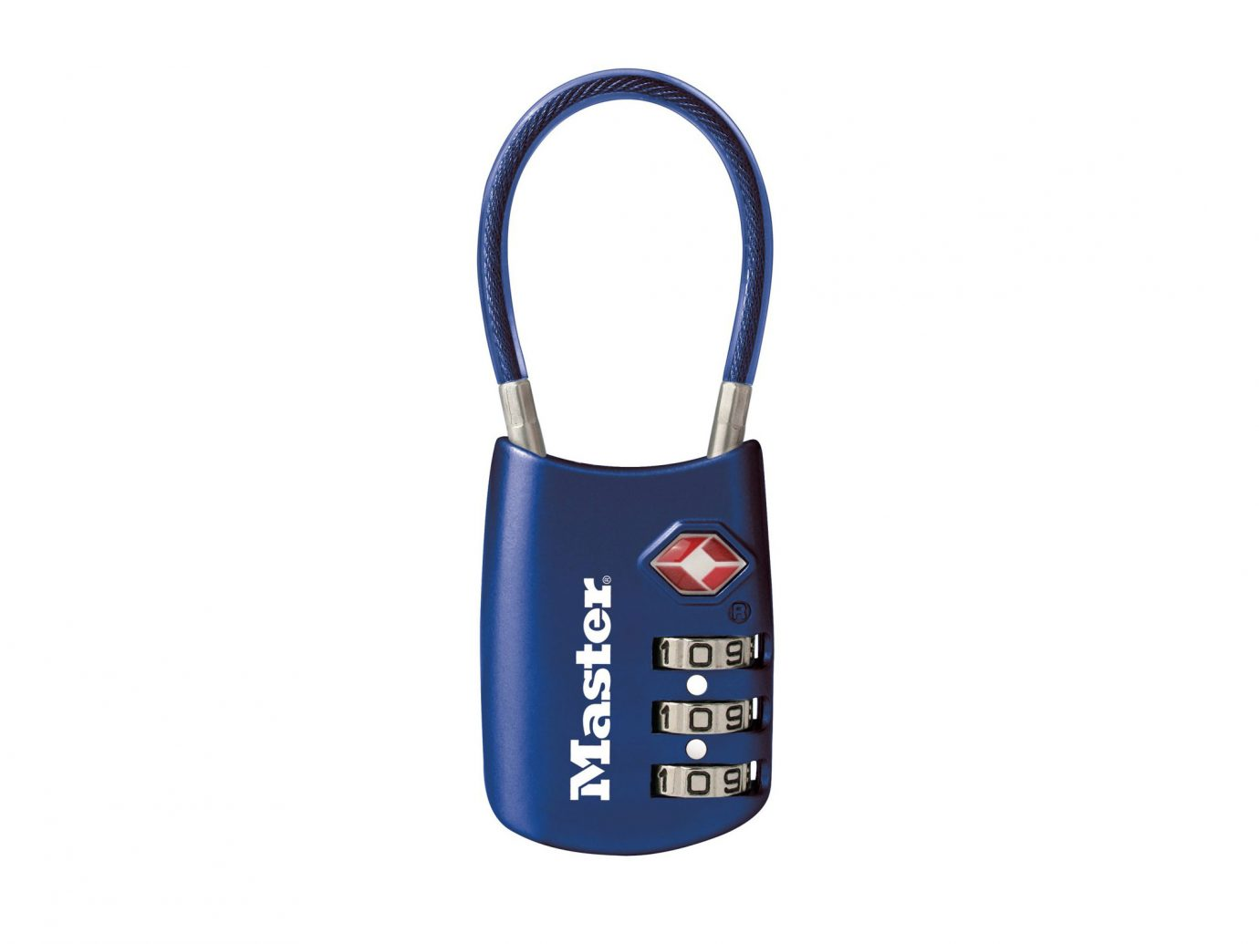 TSA-approved lock: Master Lock