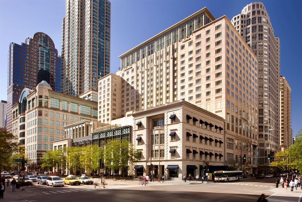 Facade of Peninsula Chicago
