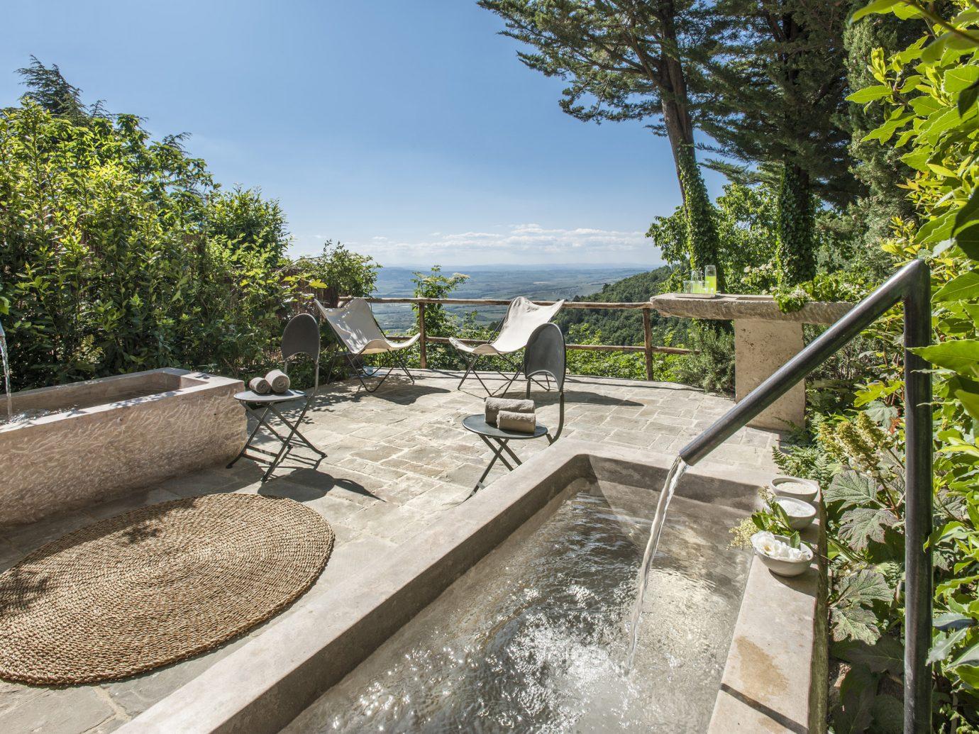 Pool at Monteverdi Tuscany
