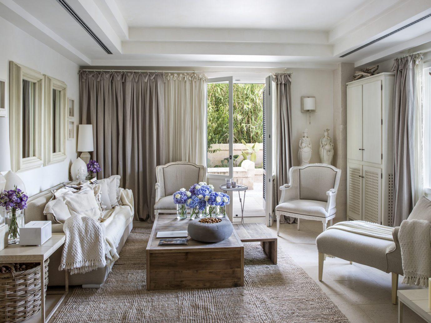 Living room at Borgo Egnazia