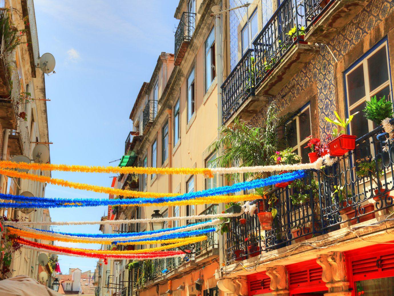 LISBON, PORTUGAL-OCTOBER 2017: Trendy bistro in historic part of Lisbon