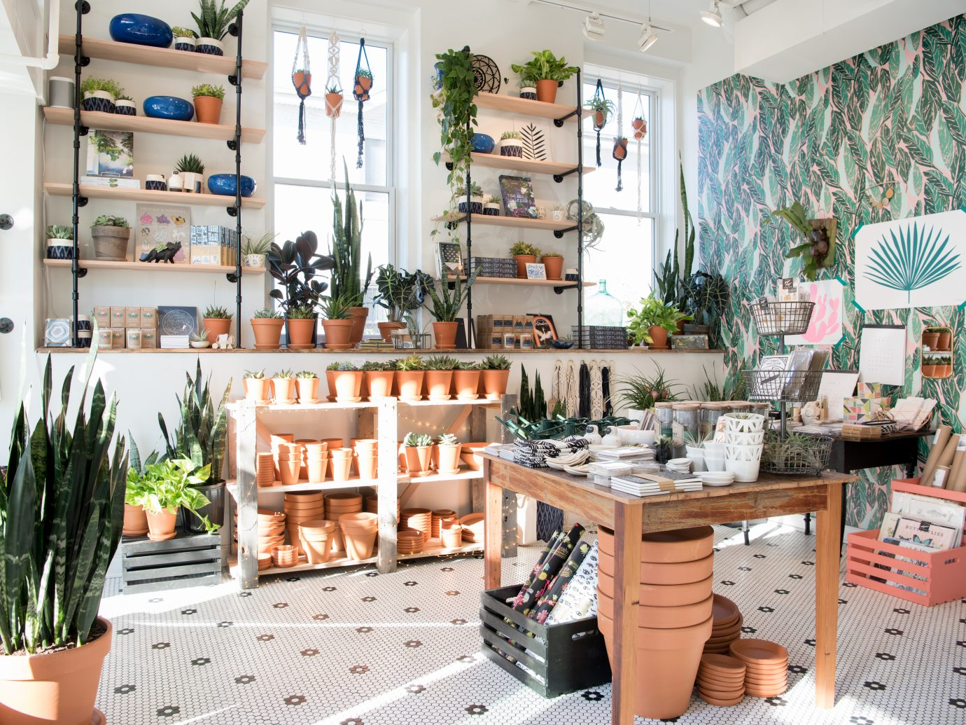 store interior at little leaf