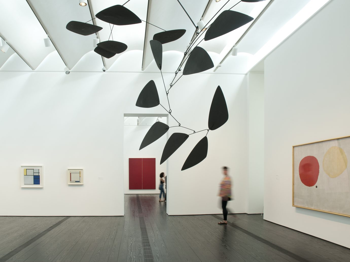 View of exhibition in Menil Gallery Houston