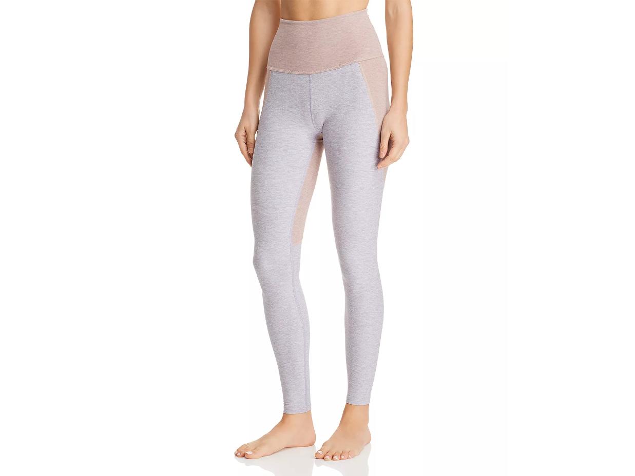 Beyond Yoga Off Duty High-Rise Color-Block Leggings