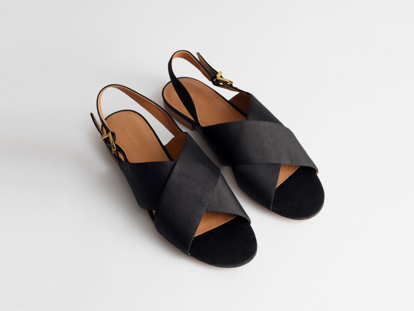 & Other Stories Criss Cross Slingback Sandals