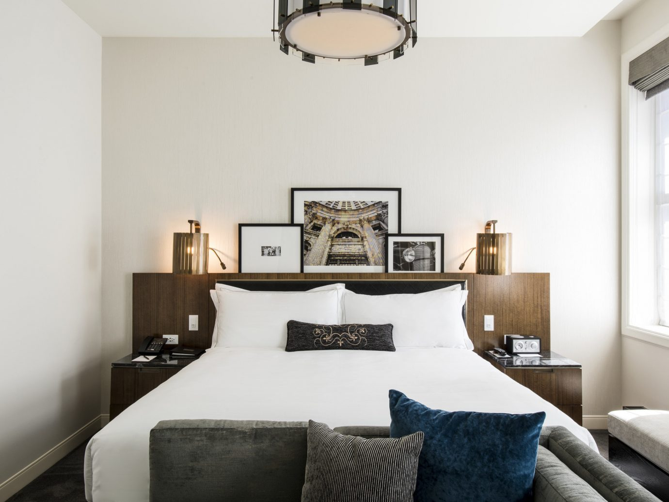 Bedroom at LondonHouse Chicago, Curio Collection by Hilton