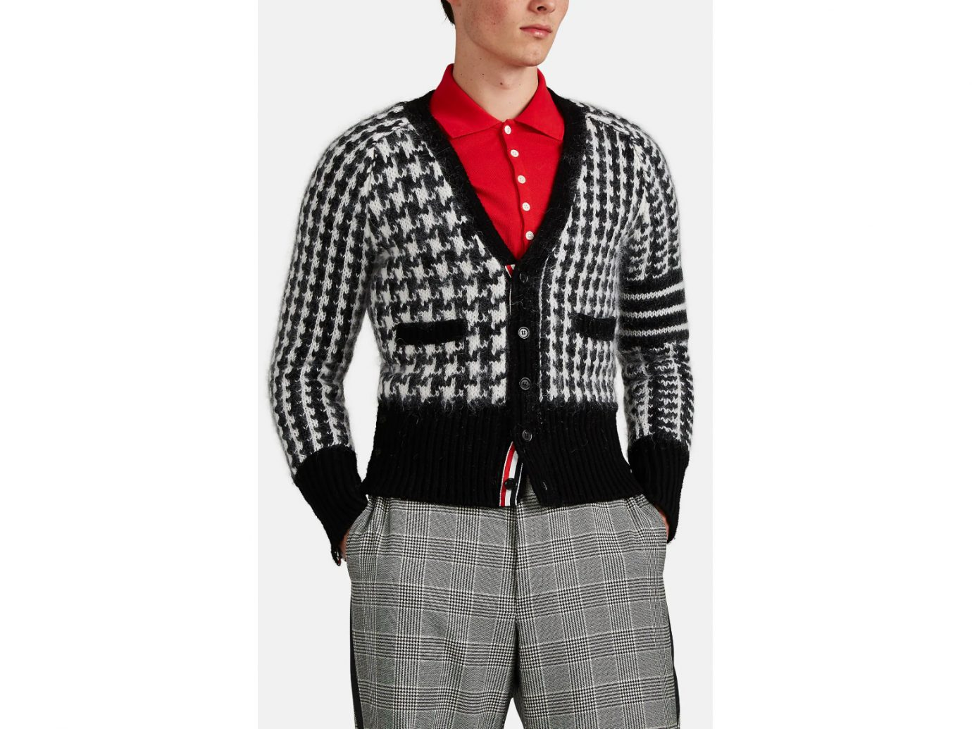 Thom Browne Houndstooth Sweater