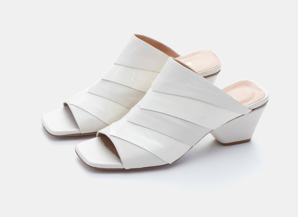 Bell and Becks The Amanta White Heel