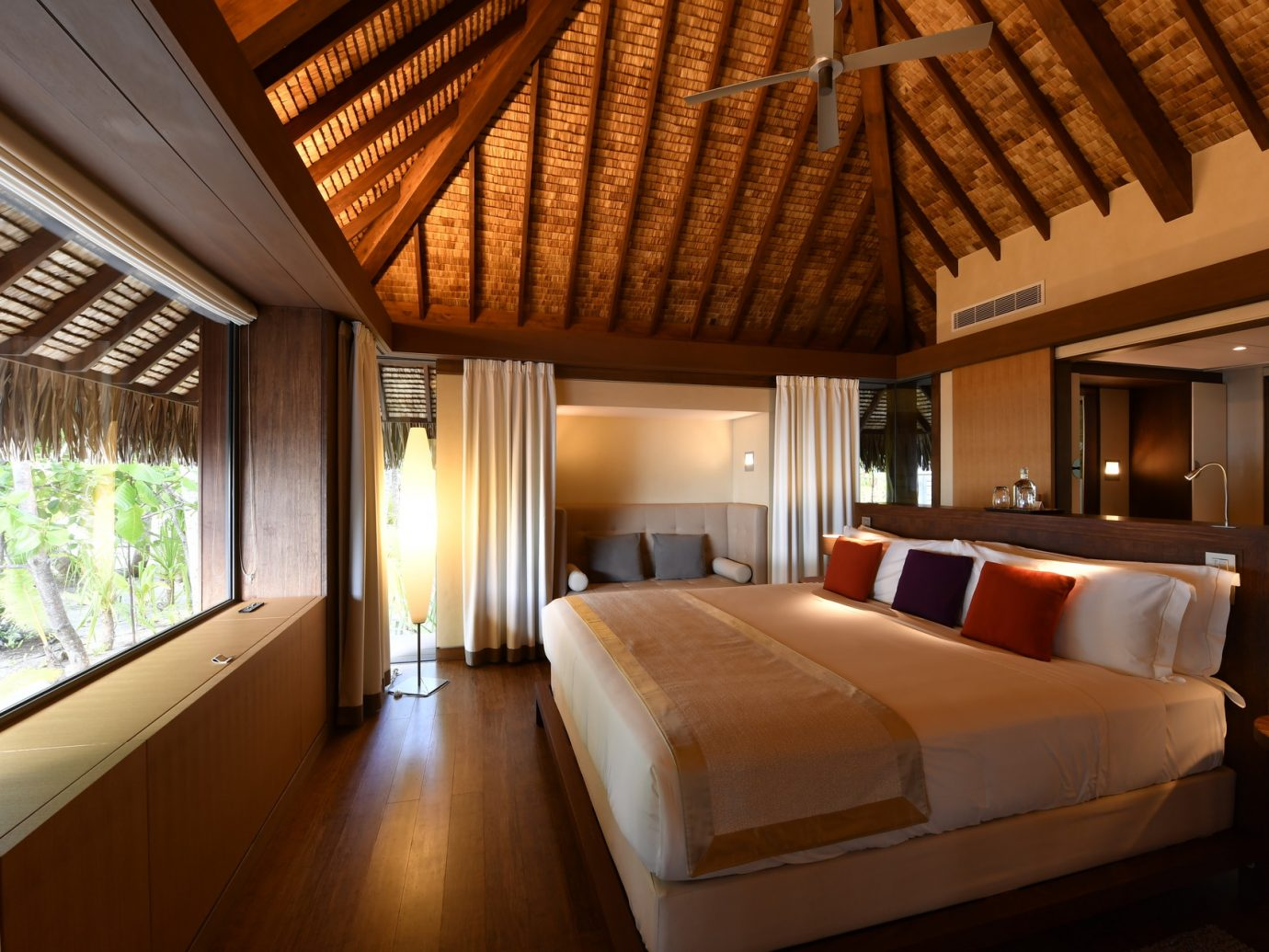 Bedroom at The Brando