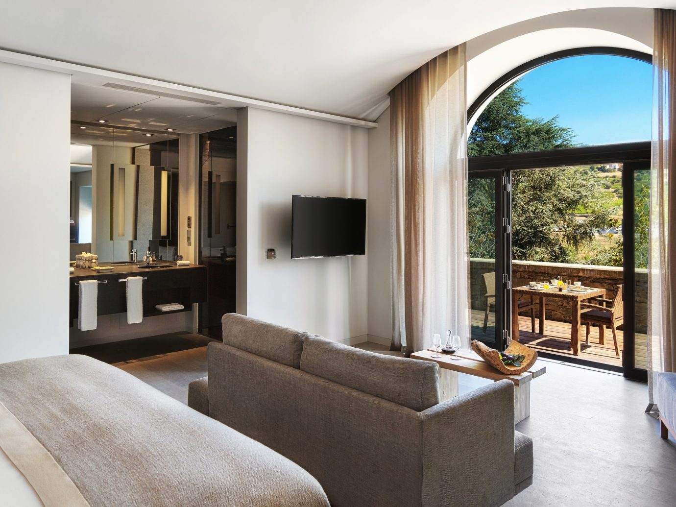 bedroom at where Six Senses Duoro Valley
