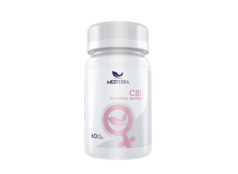 Medterra Women's Monthly Wellness CBD Capsules