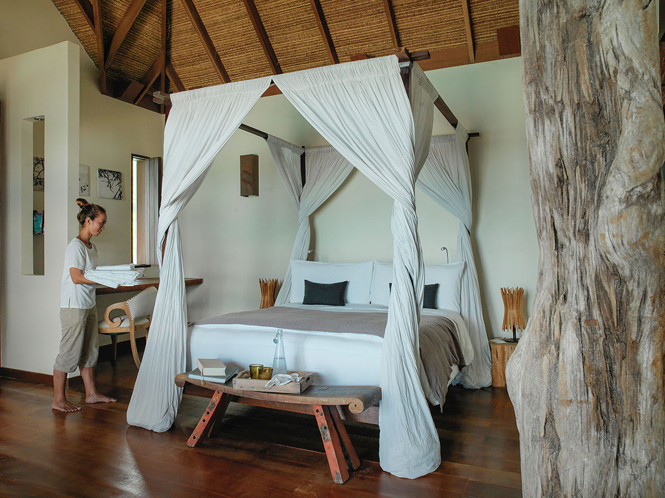 Bedroom at Song Saa Private Island