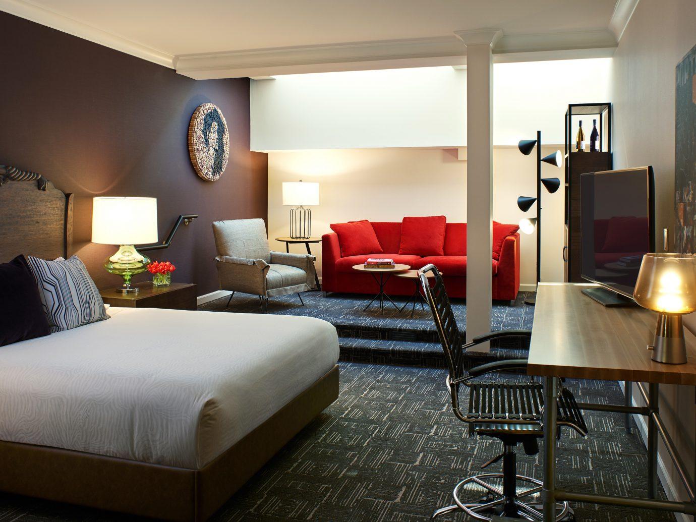 Bedroom at Hotel Vintage Portland