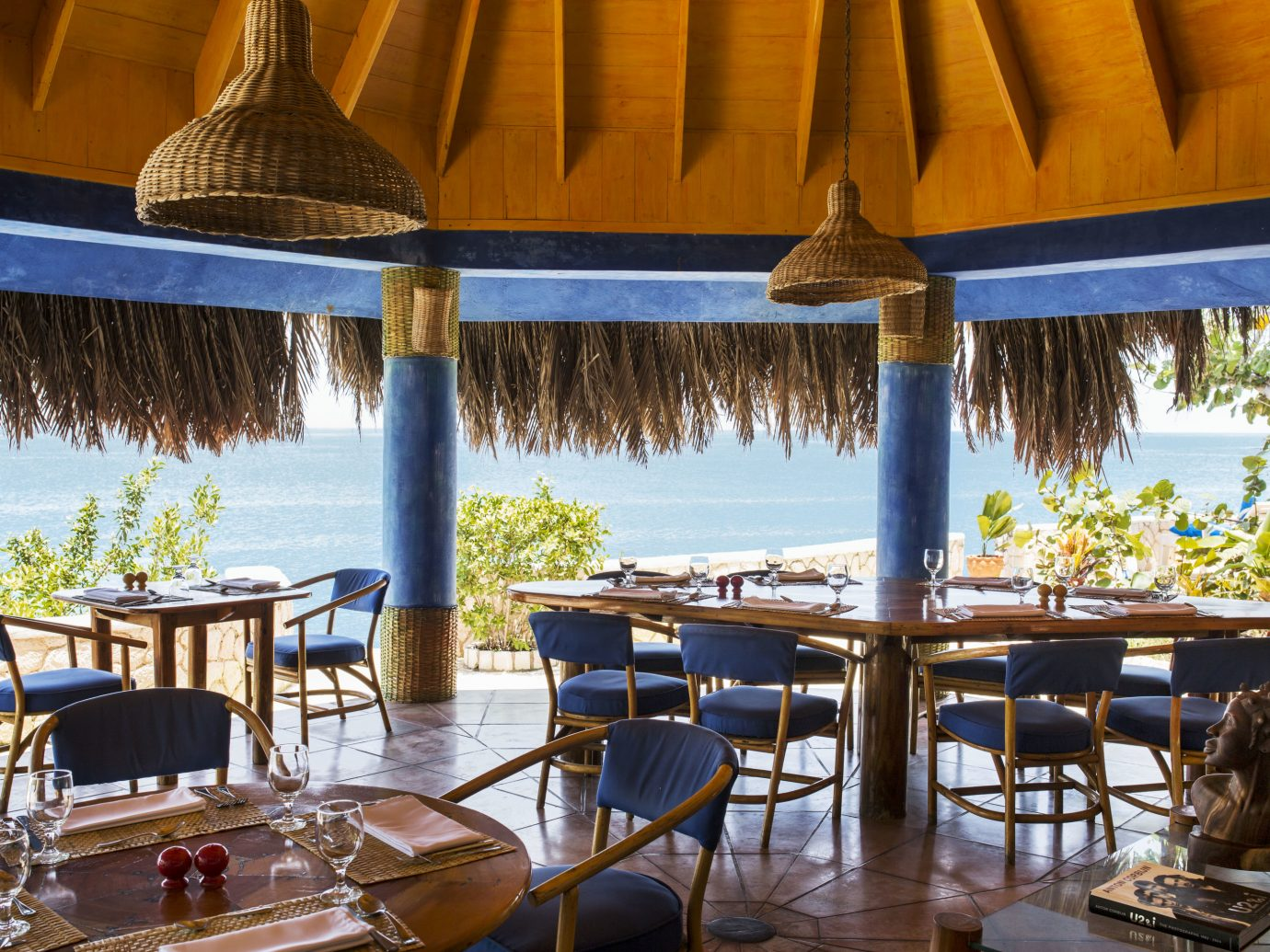 Restaurant at The Caves in Jamaica
