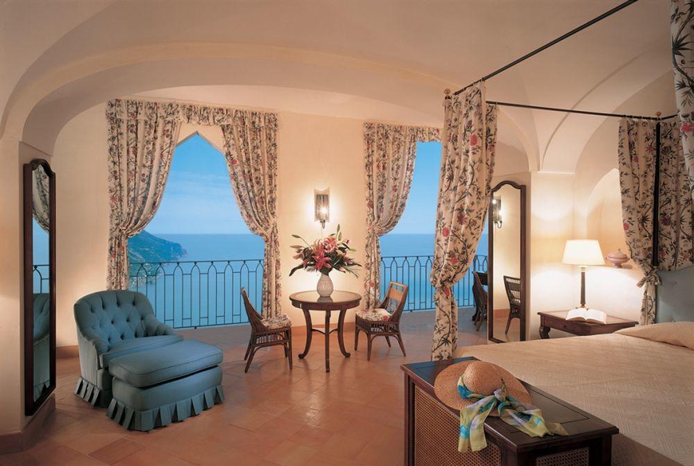 Bedroom at Belmond Hotel Caruso