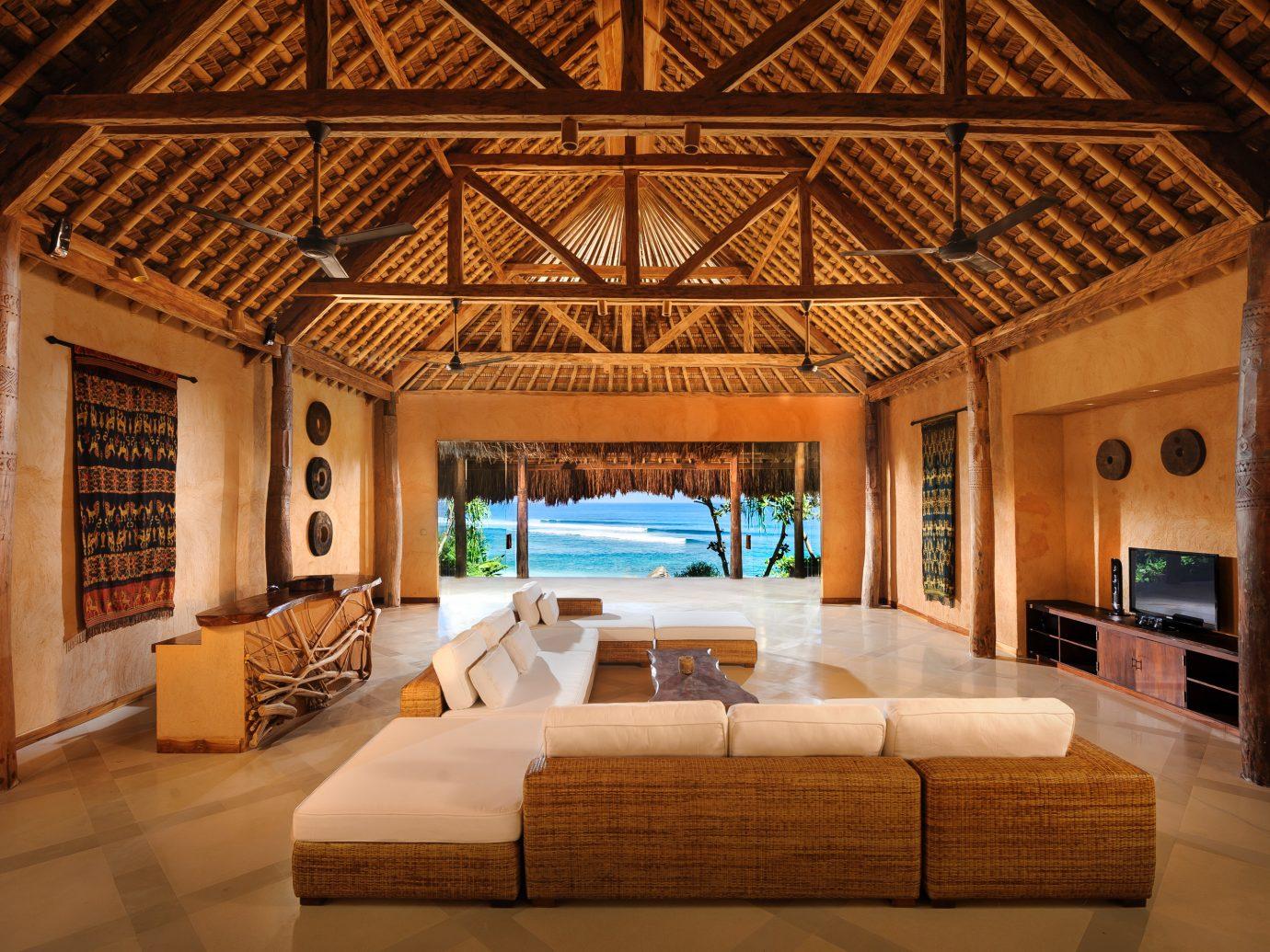 Living room at Nihi Sumba