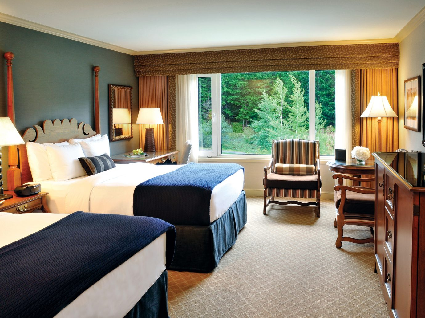 Bedroom at Fairmont Chateau Whistler