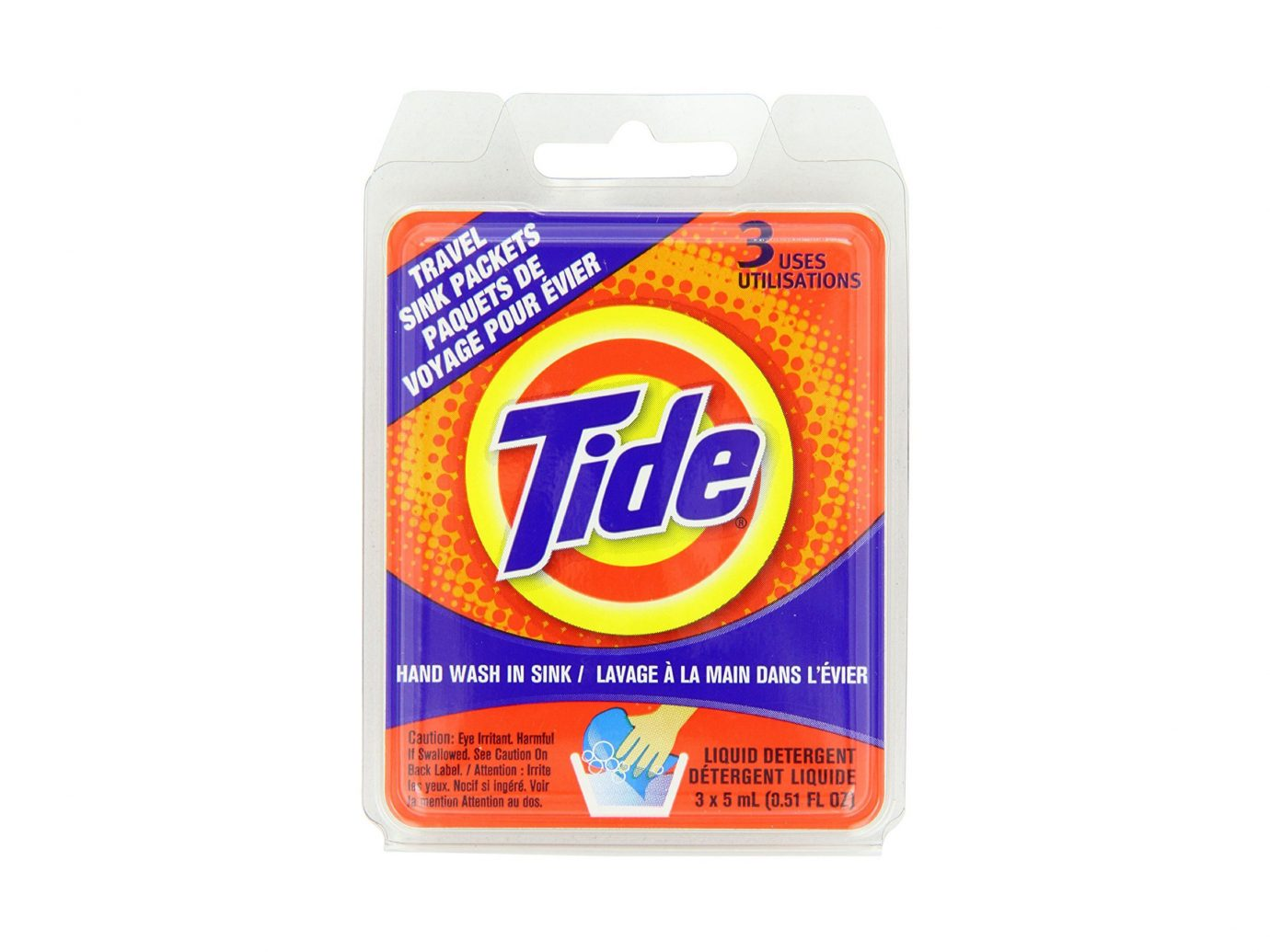 Tide Travel Sink Hand Wash Packets
