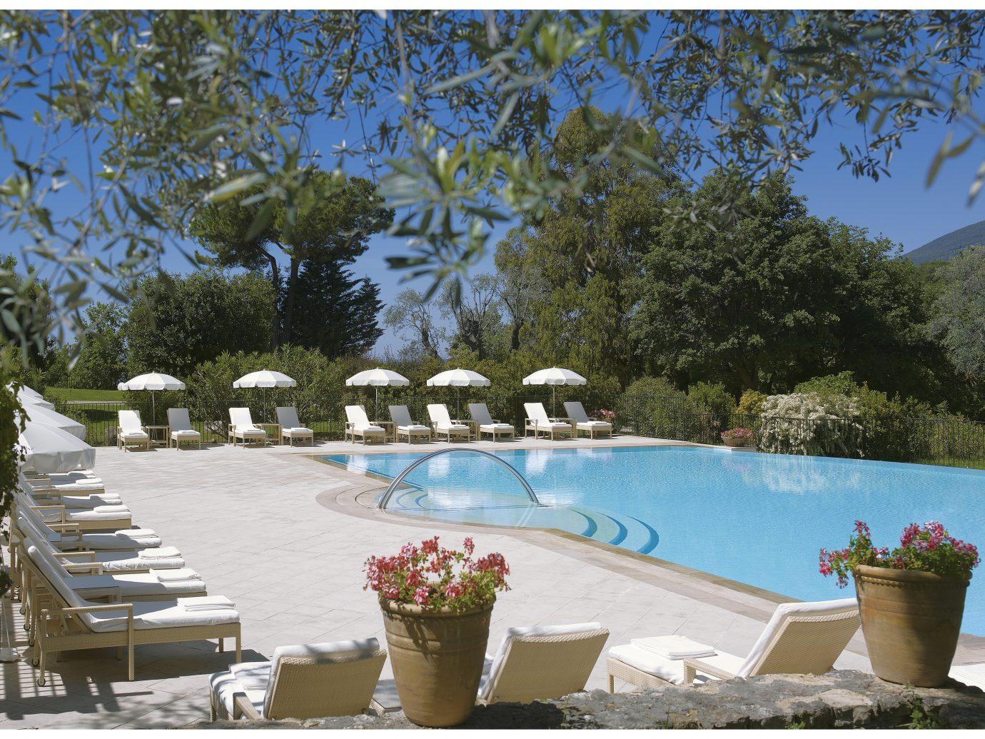 Pool at Château Saint-Martin & Spa