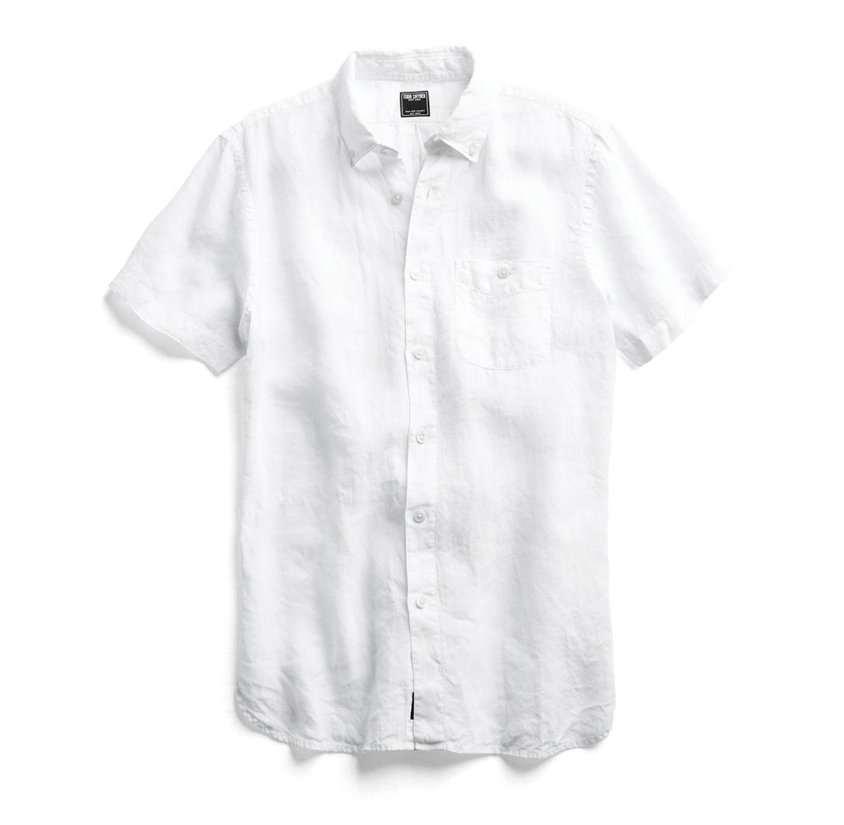 Tom Snyder white shirt
