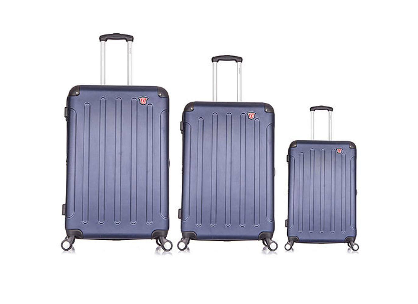 DUKAP Intely Smart Hardside Luggage Set