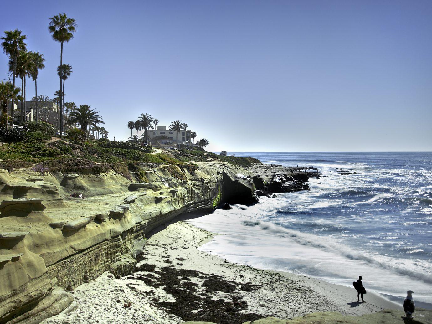 La Jolla Shores Coastline, San Diego California USA