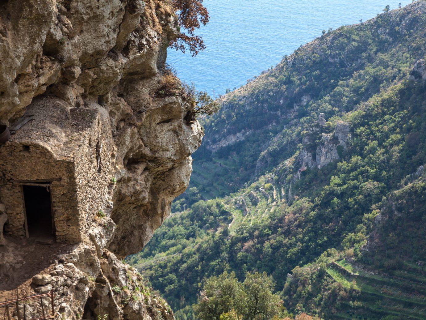 Part of Sentiero degli dei (Path of the Gods) from Agerola to Positano village