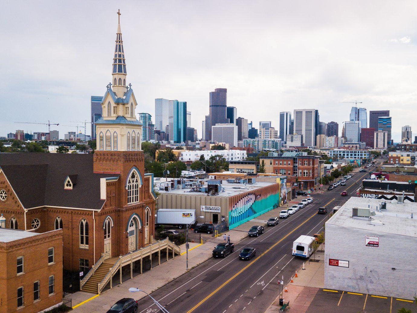 View of downtown Denver Colorado