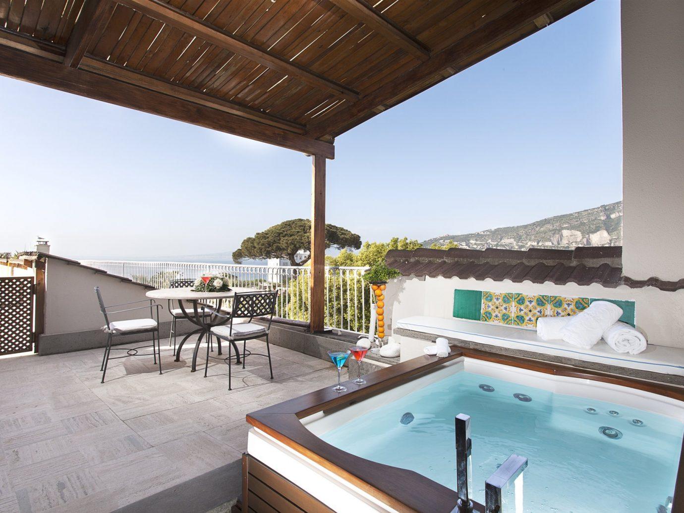 Balcony at Grand Hotel Cocumella