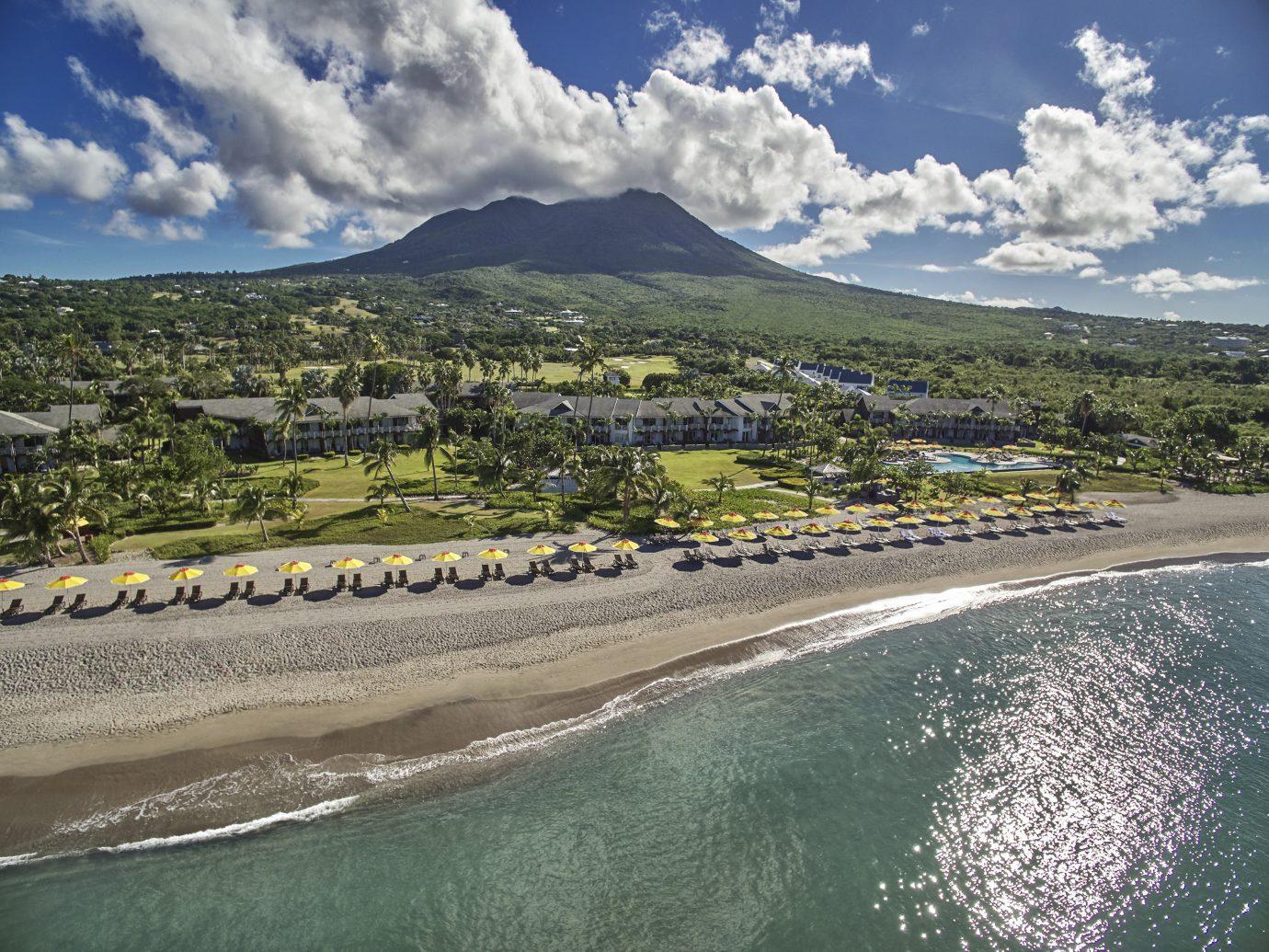 Aerial view of Four Seasons Resort Nevis