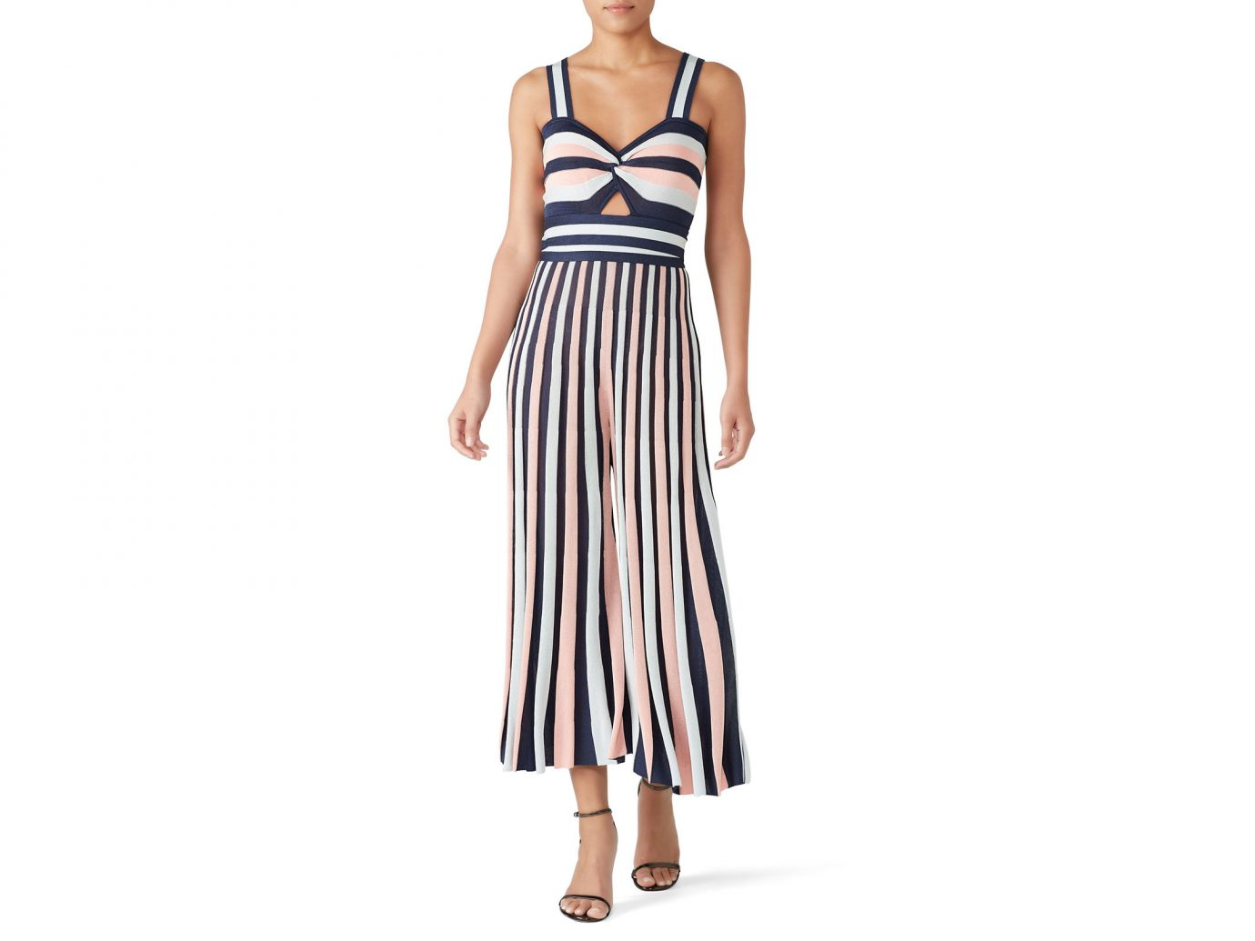 Temperley London Add to Hearts Isabella Knit Jumpsuit