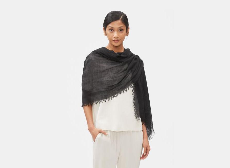 Eileen Fisher Silk Cashmere Wrap