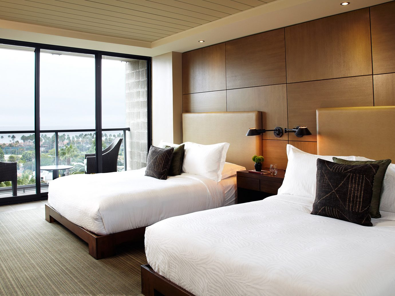 Bedroom at Hotel La Jolla in San Diego California