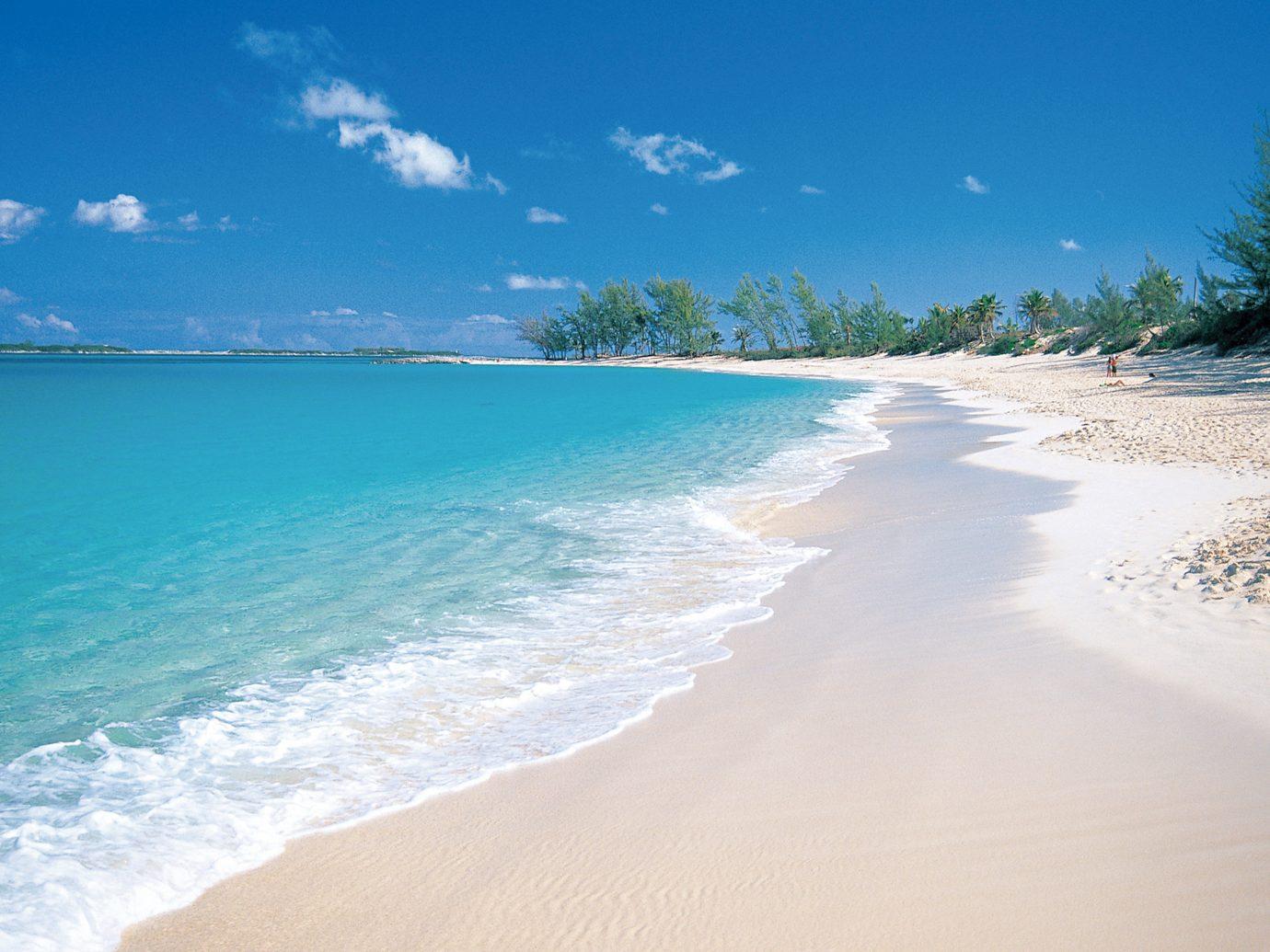 Beach at Four Seasons Ocean Club Bahamas