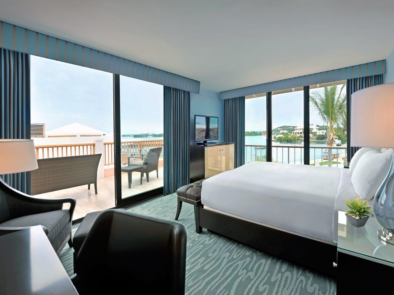 Bedroom at Hamilton Princess & Beach Club