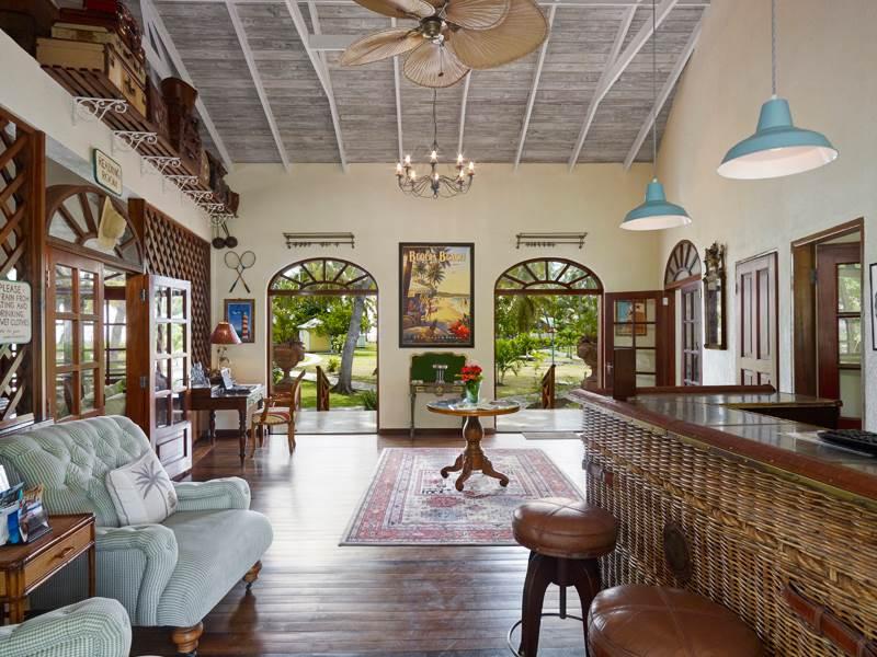 Lobby at Bequia Beach Hotel