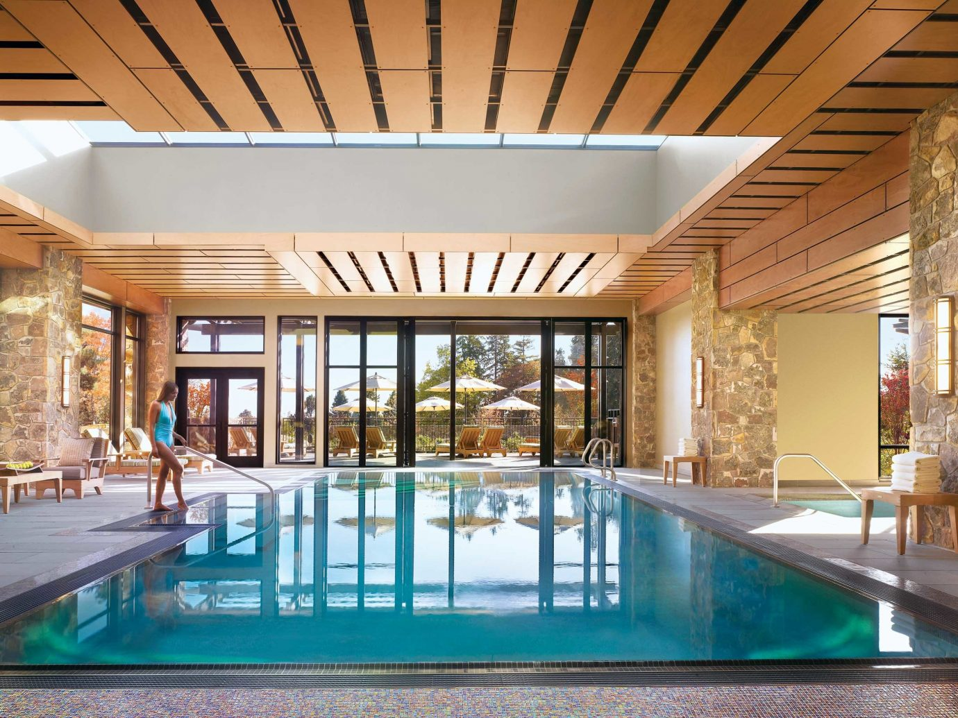 Pool at the Allison Inn & Spa