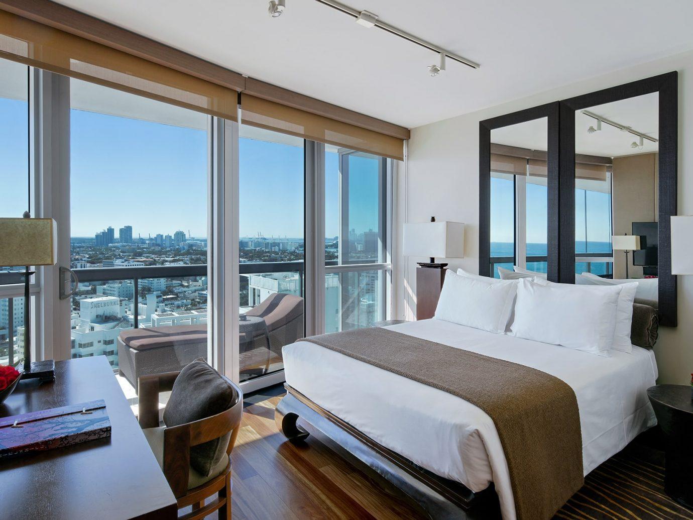 Bedroom at the Setai Miami Beach