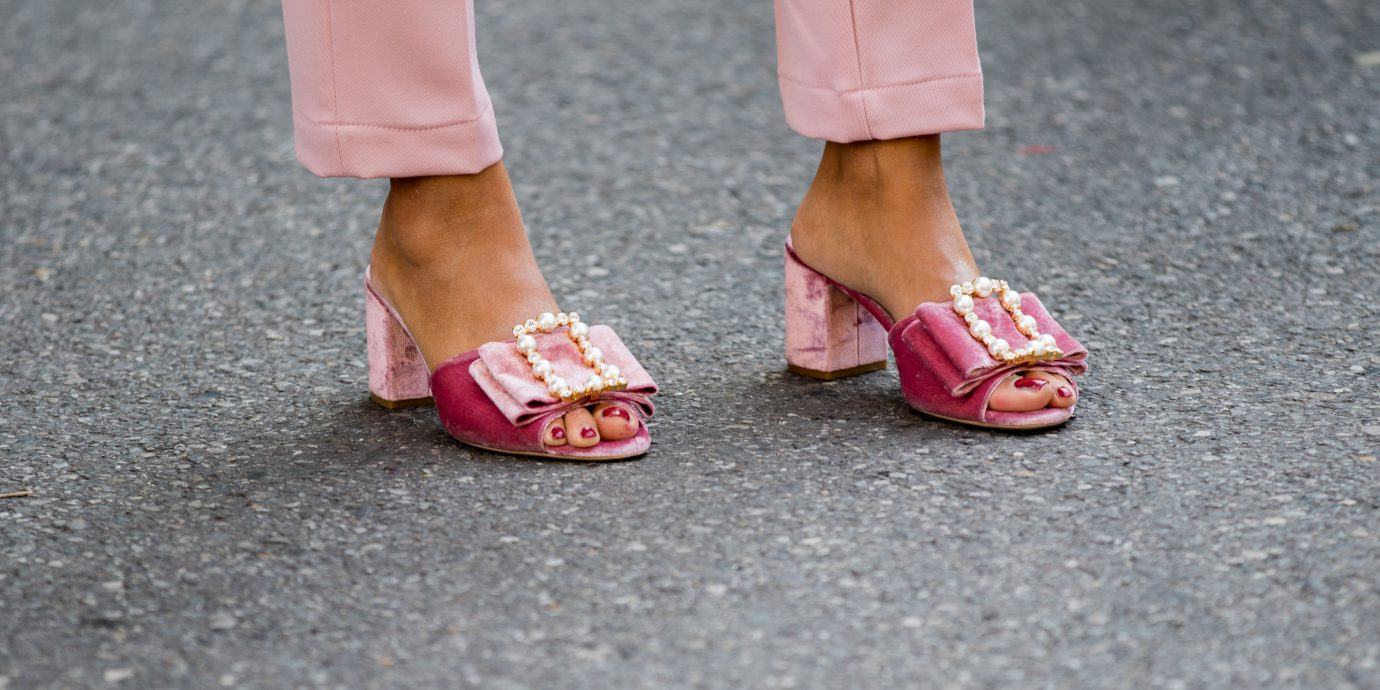 Comfy heels for travel